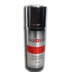 FABUFEEL real image of Radiance Serum Bottle