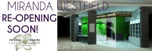 Miranda Westfield opening soon 2100